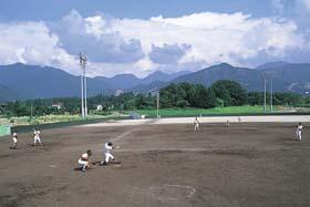 写真:野球場